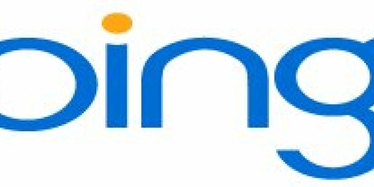bing & ping - Suchergebnisse werden teilbar