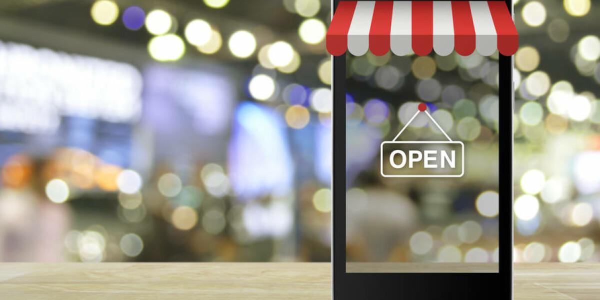 Einkaufen mit dem Smartphone