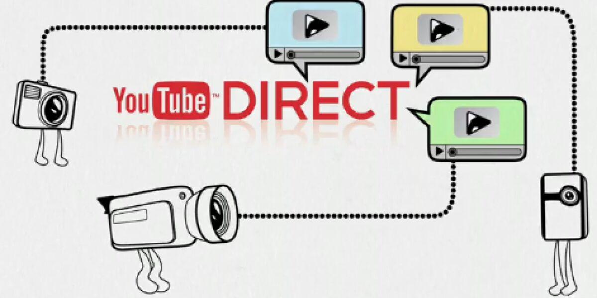 Neue Direktverbreitung von Youtube-Clips