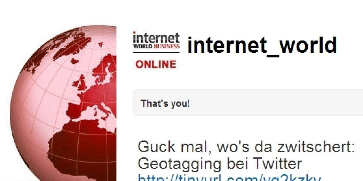 4.000 Follower für internetworld.de auf Twitter