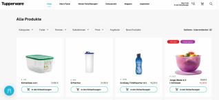 Tubberware-Webseite