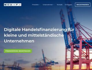 Digitale Handelsfinanzierung von Modifi