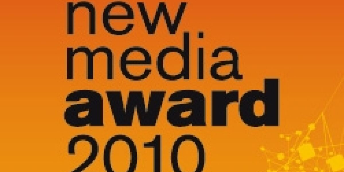 New Media Award: Einreichungsfrist bis 15. Januar