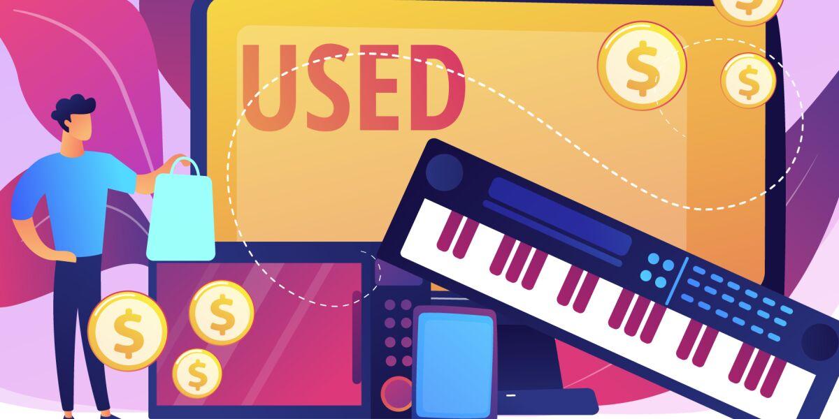 Gebrauchte Elektronik-Artikel