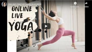 Live-Unterricht auf Yogalover.de