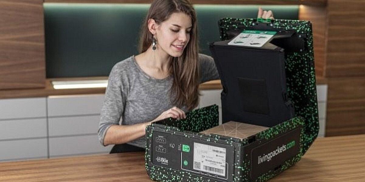 Verpackung The Box