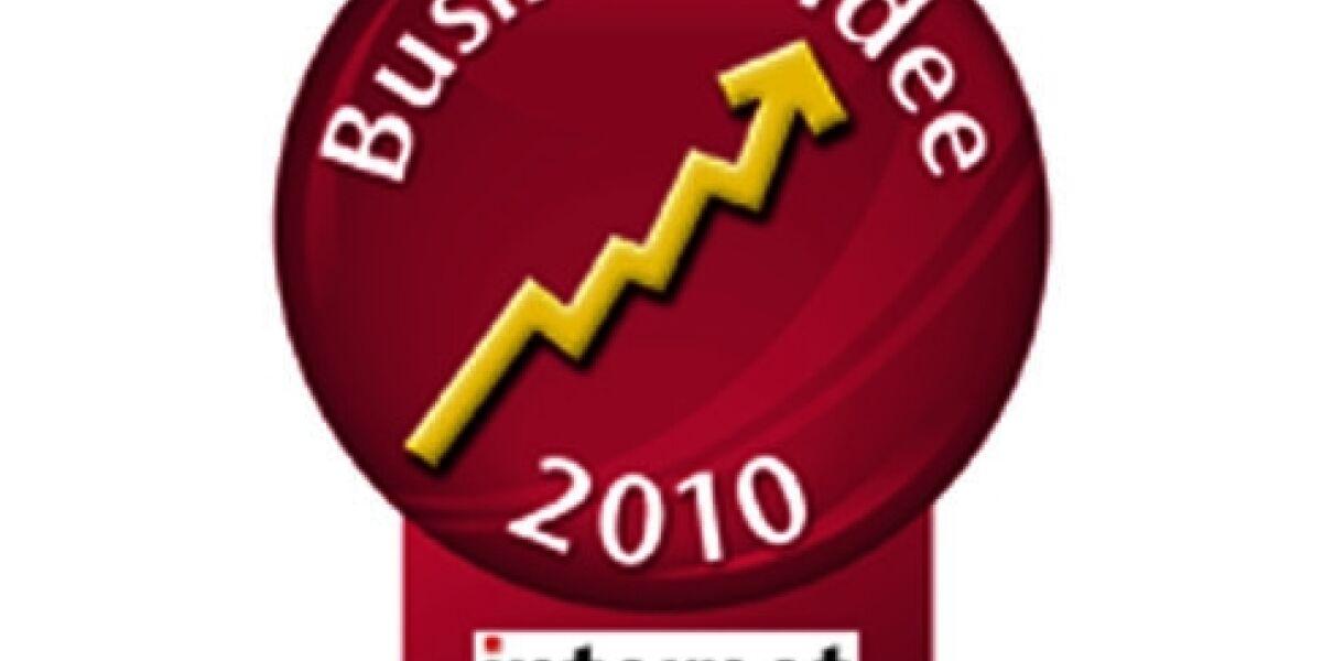 INTERNET WORLD Business-Idee 2010 startet