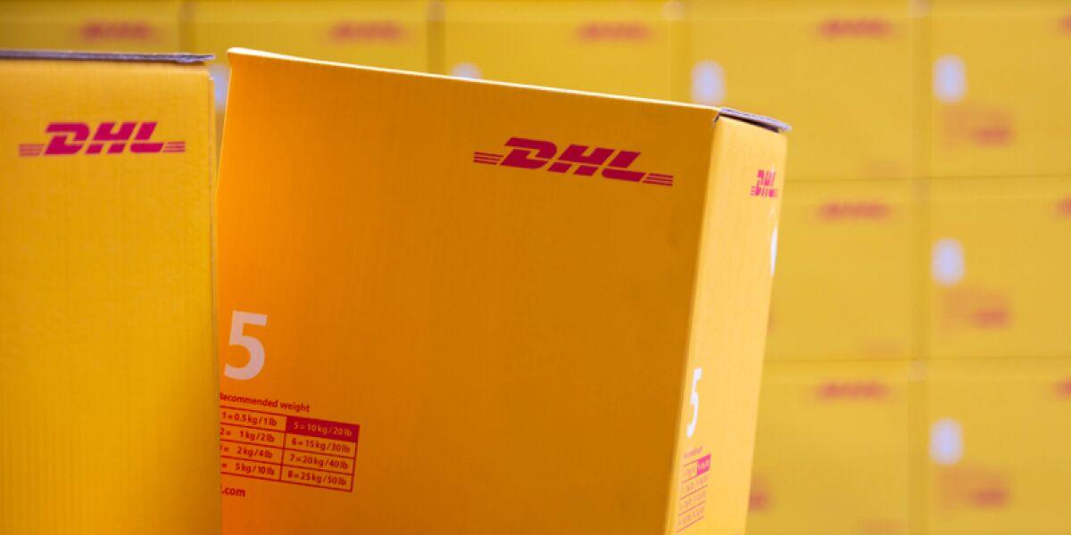 Pakete von DHL