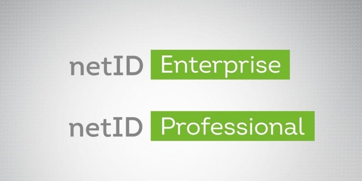 netID Enterprise und Professional Produktnamen