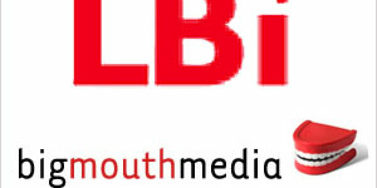 Bigmouthmedia wird Teil von LBi