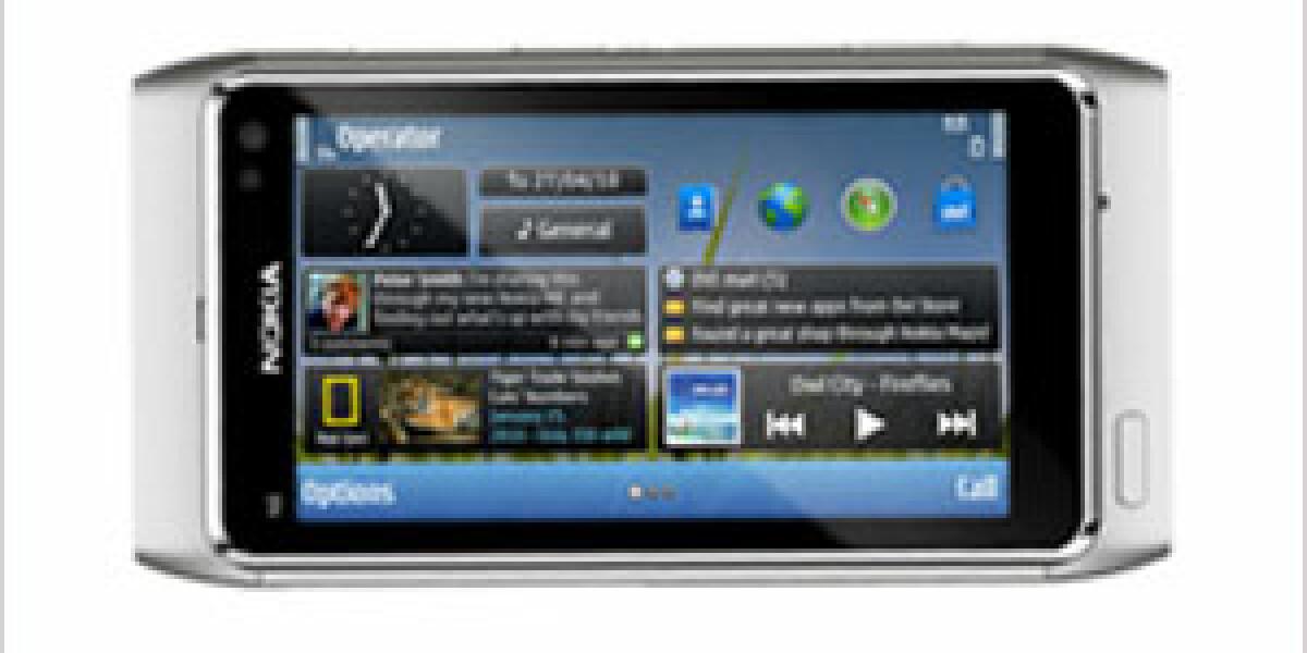 Nokia stellt sein neues Smartphone N8 vor