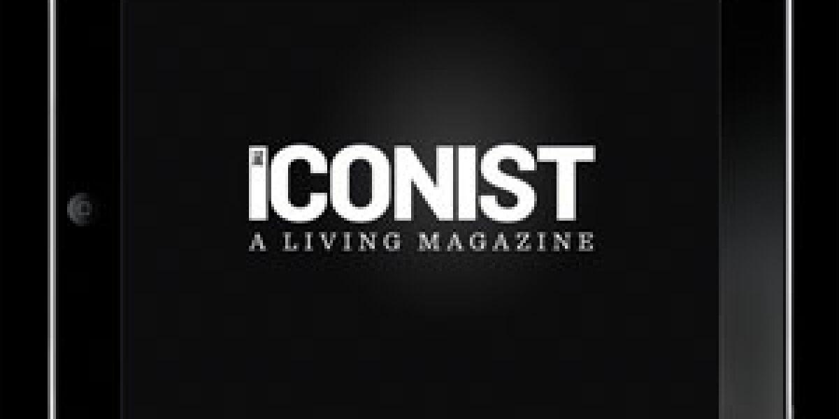 """Welt startet iPad-App für """"The Iconist"""""""