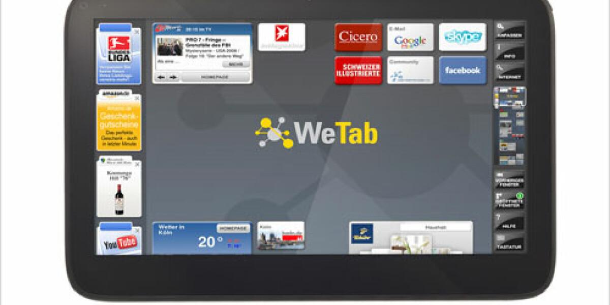 Das WePad ist jetzt ein WeTab