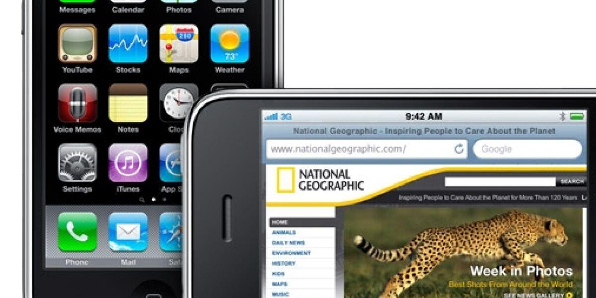 Mit welchen Geräten surfen die User mobil?