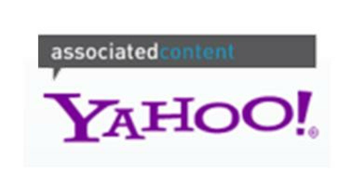 Yahoo kauft Associated Content