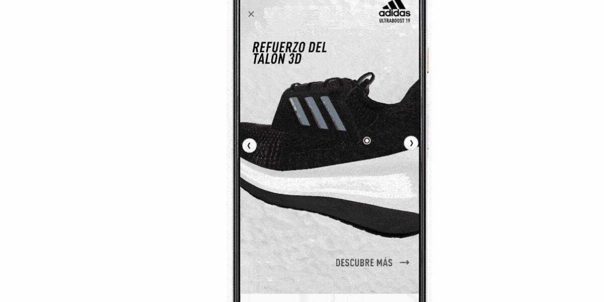 Adidas-Werbung