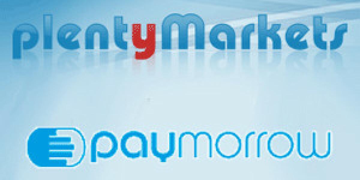 plentyMarkets bindet paymorrow an