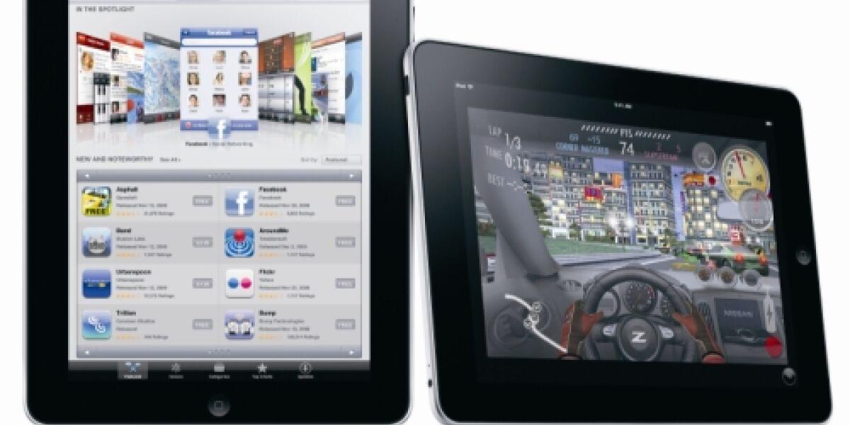 Wer plant den Kauf von Apples Tablet-PC?