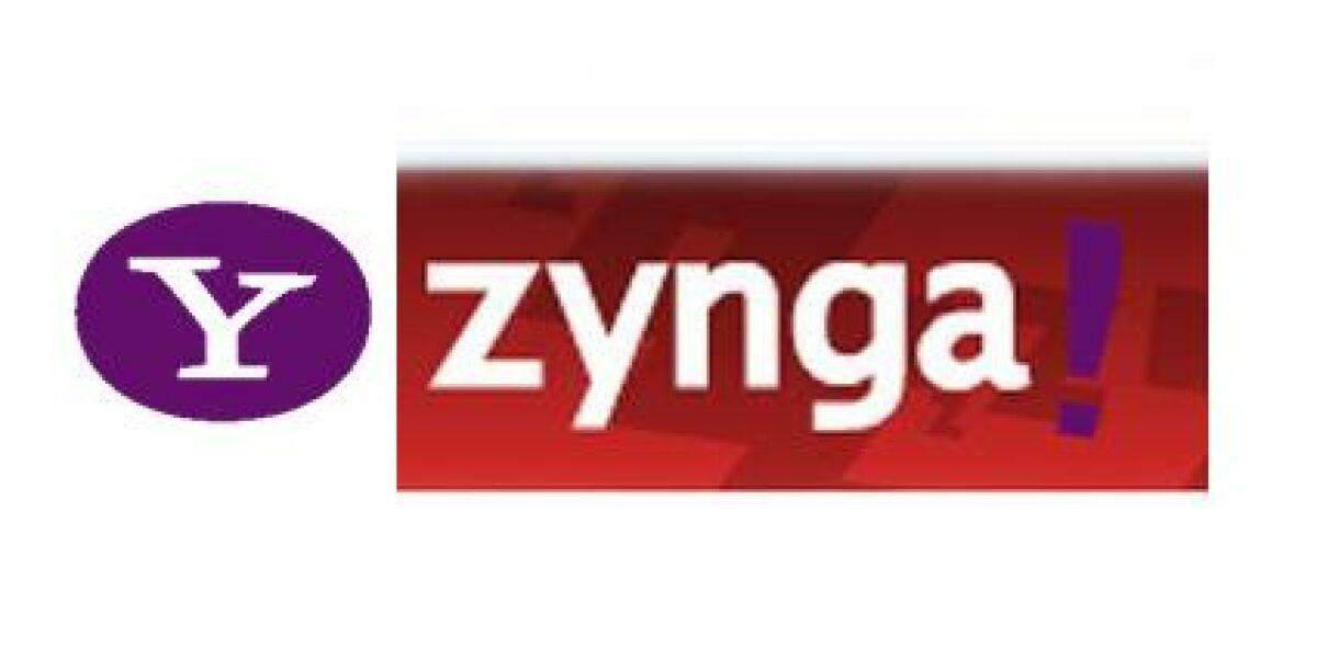 Gaming-Integration auf Yahoo
