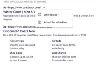 Warum diese Werbung?
