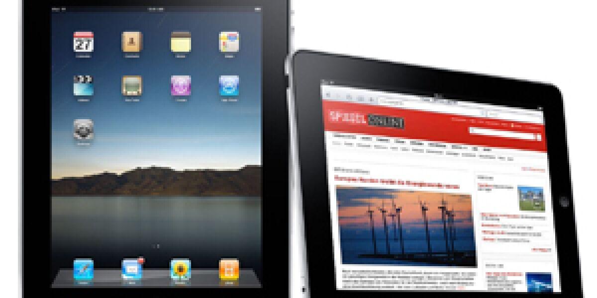 Apple nennt Verkaufszahlen fürs iPad