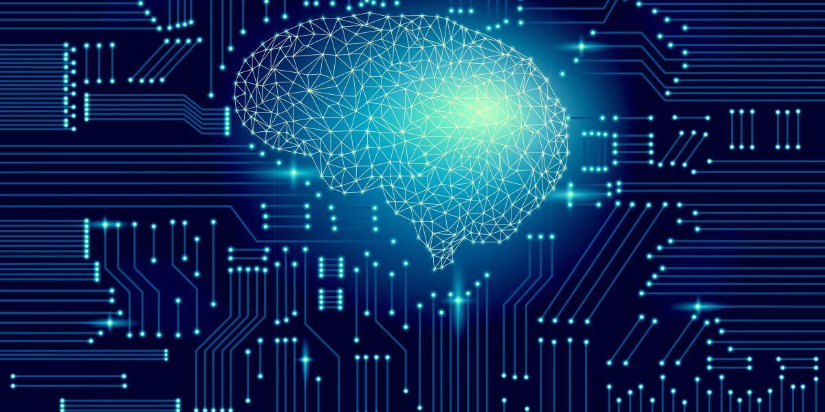 Futuristisches Gehirn