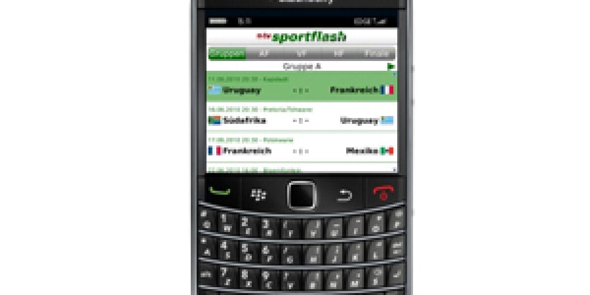 Fußball-WM mobil mit n-tv