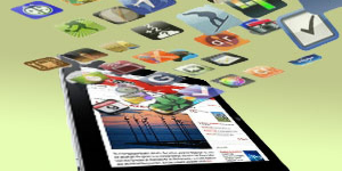 iPad hat über 10.000 verfügbare Apps