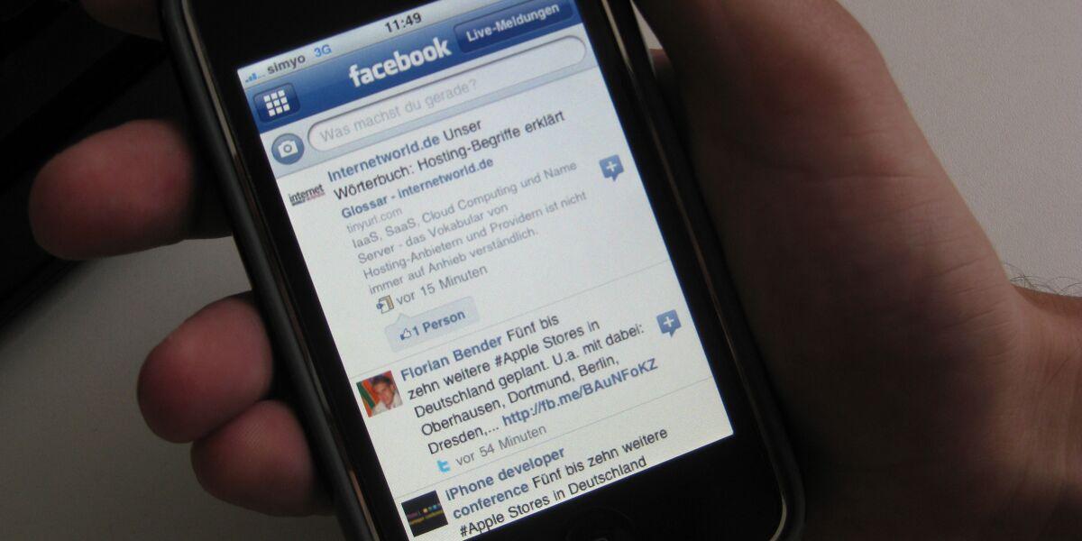 Facebook-Nutzung weltweit