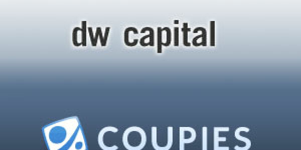 dw capital beteiligt sich an Coupies