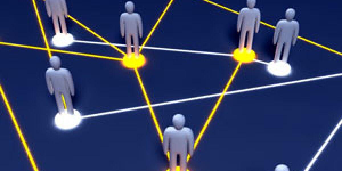Intensive Nutzung von Business-Netzwerken Foto: fotolia.com/Spectral-Design