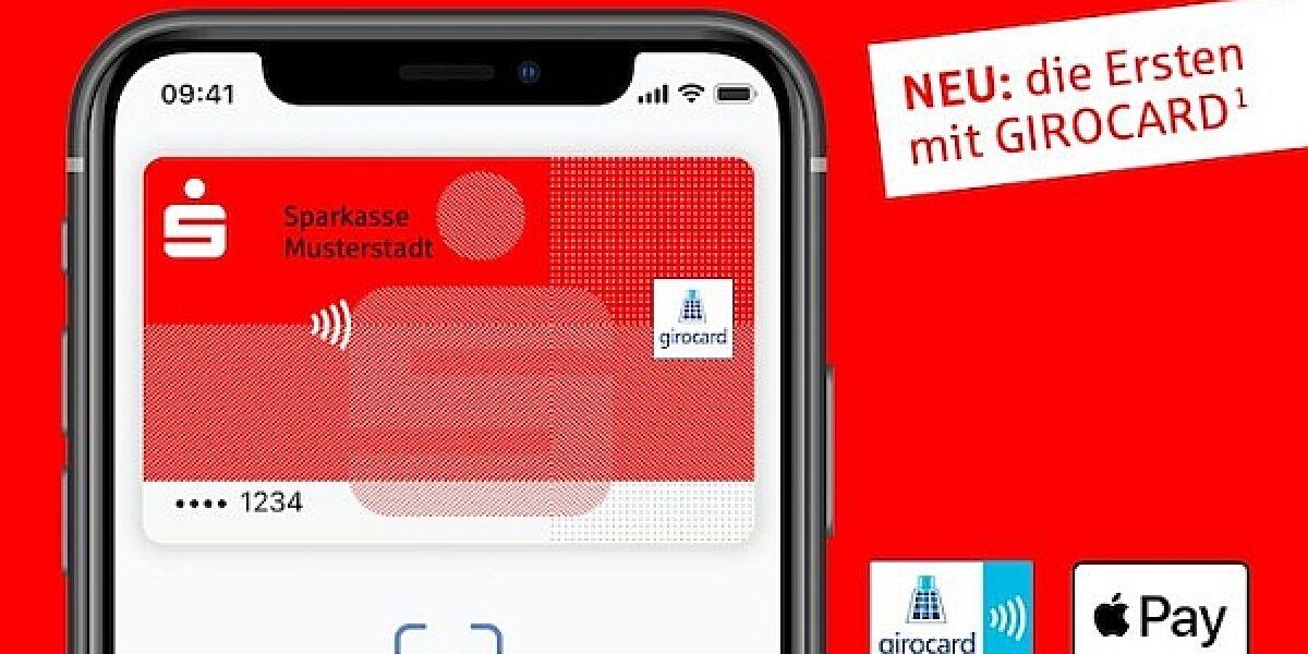 Apple Pay Girocard Sparkasse