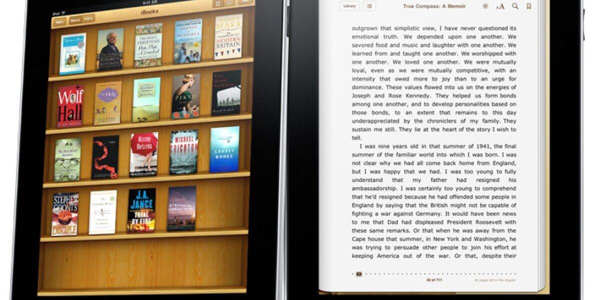 Verletzt Apple mit der iBooks-Software ein Microsoft-Patent?
