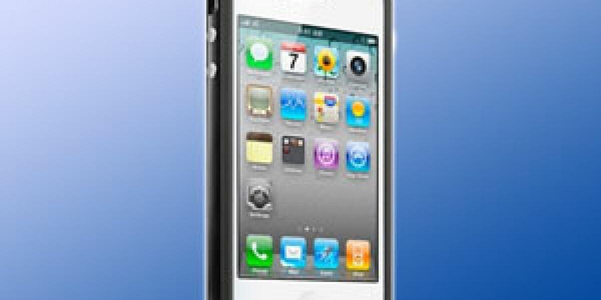 Kostenlose Hülle für Apples iPhone 4