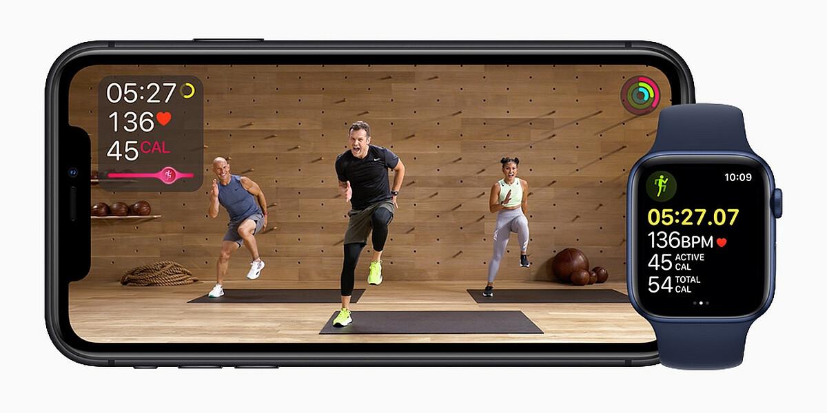 Neue Apple Watch mit Fitness App