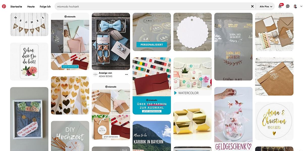 Miomodo-Pinnwand auf Pinterest