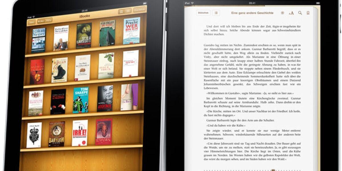 Random House prognostiziert Steigerung bei E-Books