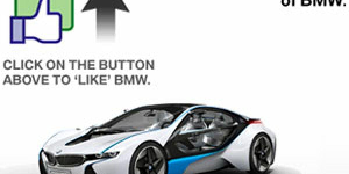 BMW übernimmt Facebook-Fanseite