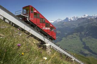 Niesenbahn im Berner Oberland