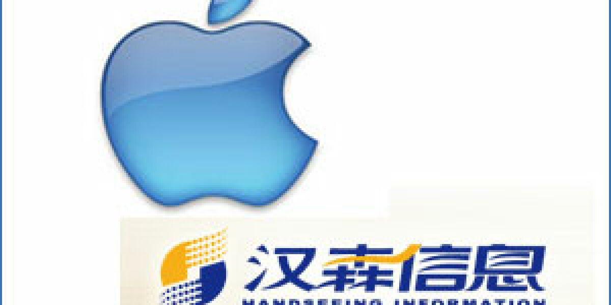 Apple verhandelt mit Handseeing
