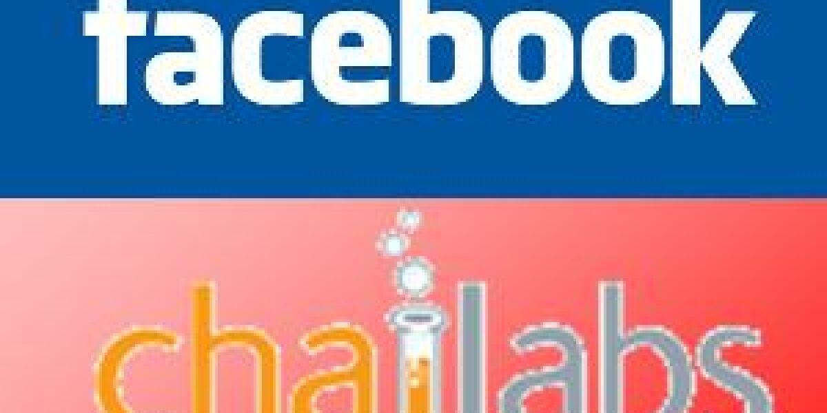 Facebook übernimmt Chai Labs