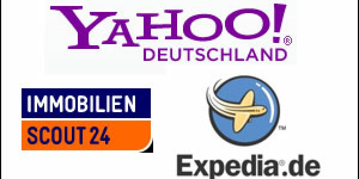 Yahoo kooperiert mit ImmobilienScout24 und Expedia
