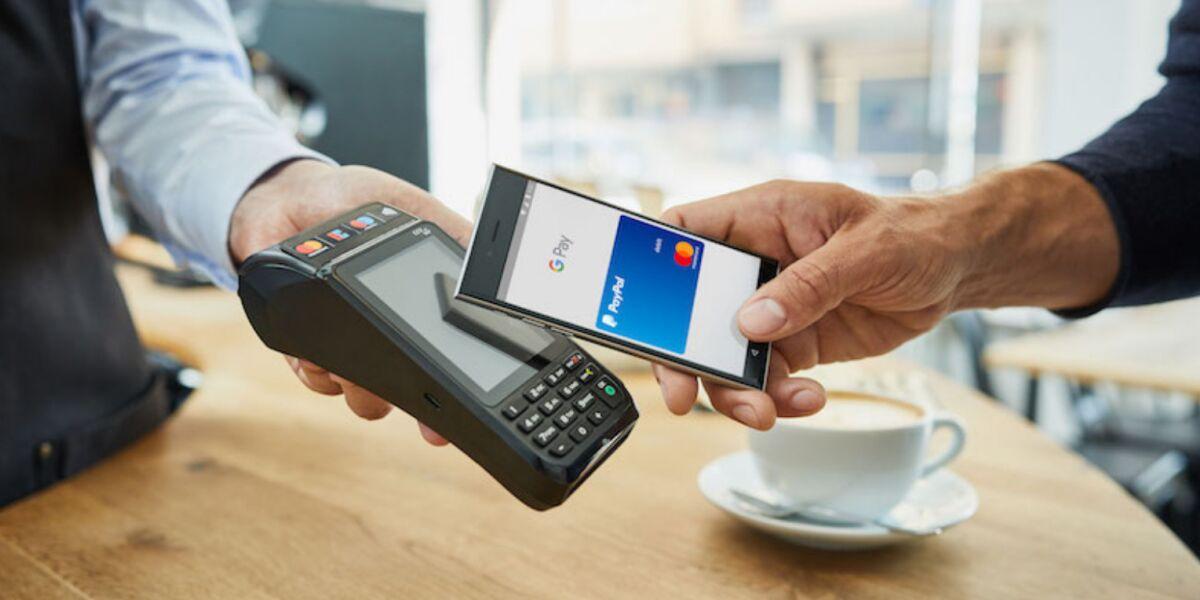 Kontaktlos mit PayPal in Google Pay bezahlen