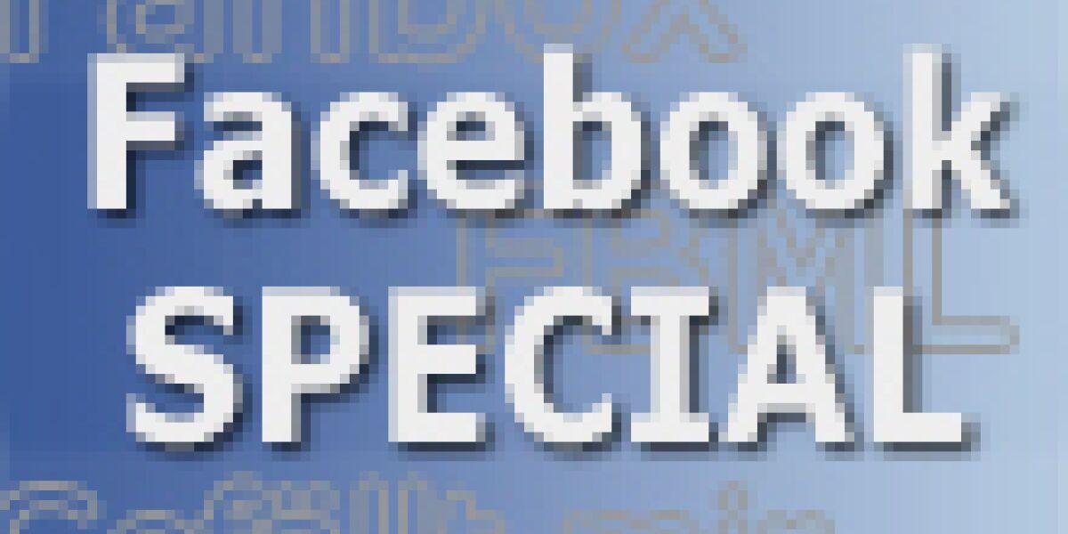 Facebook-Special auf internetworld.de