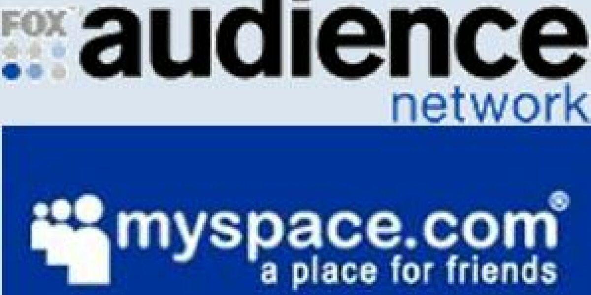 Fox Audience Network wird in MySpace integriert
