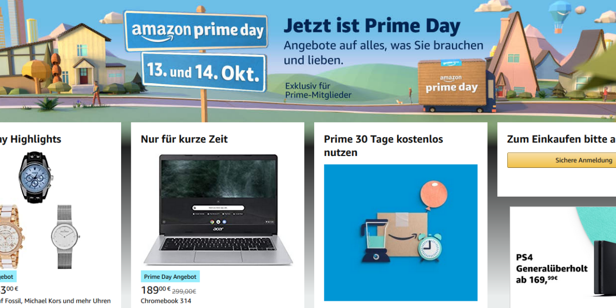 Amazon Prime Day Lautet Weihnachtsgeschaft Ein Internetworld De