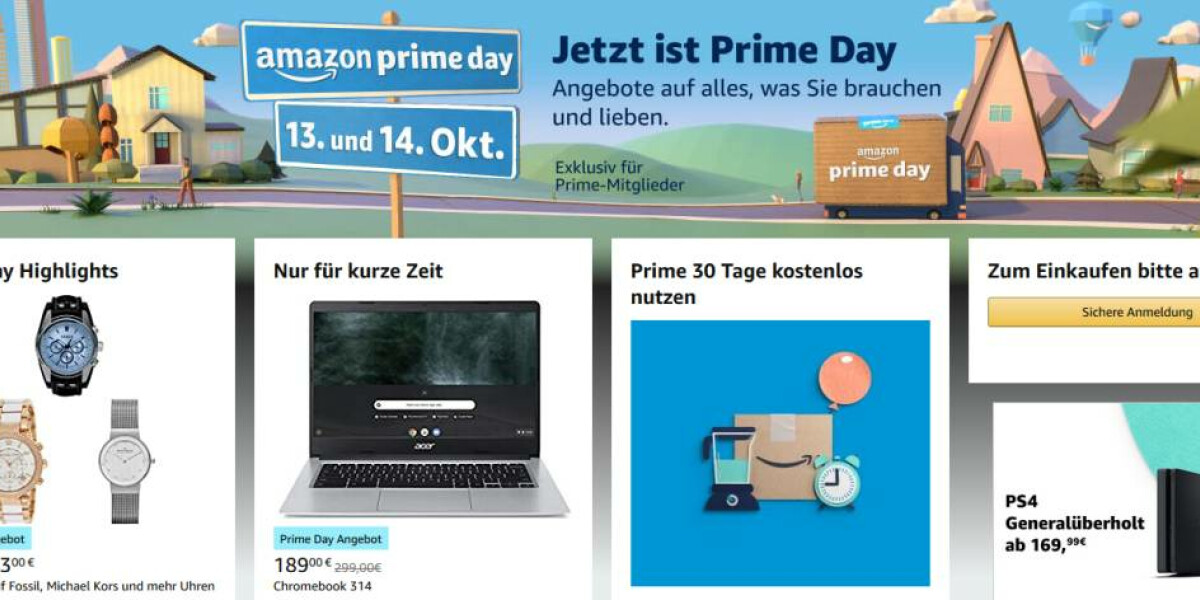 Angebote zum Amazon Prime Day Startseite Amazon Prime Day