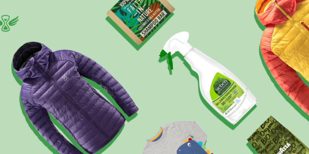 Produkte die alle Nachhaltigkeitssiegel von Amazon tragen