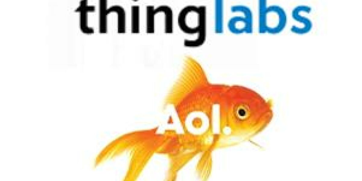 AOL kauft Thing Labs