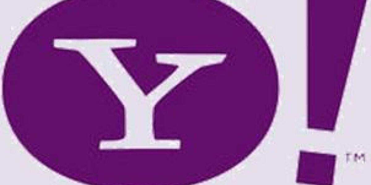 Überarbeitete Yahoo-Suche